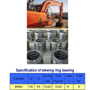 SLEWING BEARING FOR HITACHI EXCAVATOR EX130-5