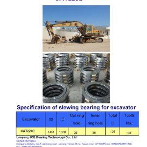 slewing bearing for caterpiller excavator CAT229D
