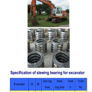 slewing bearing for daewoo excavator DH130-7