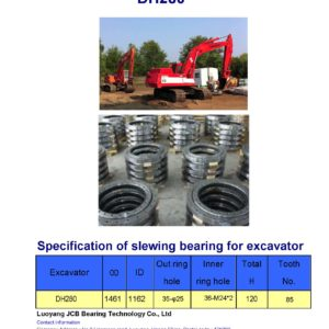 slewing bearing for daewoo excavator DH280