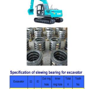 slewing bearing for kobelco excavator SK140-8