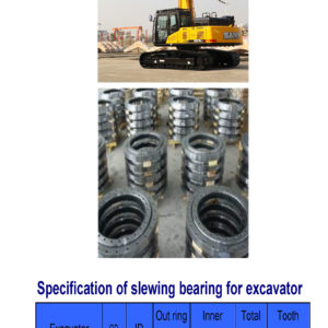 slewing bearing for sany excavator SY215
