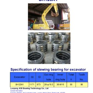 slewing bearing for sumitomo excavator SH120A1