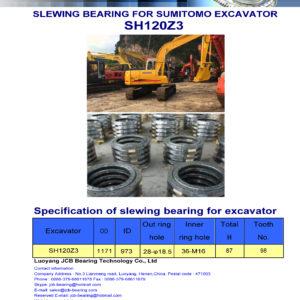 slewing bearing for sumitomo excavator SH120Z3