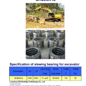 slewing bearing for sumitomo excavator SH200A1a