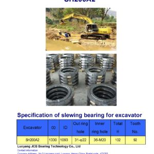 slewing bearing for sumitomo excavator SH200A2