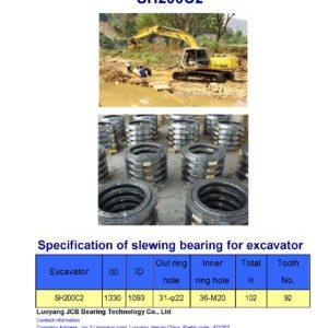 slewing bearing for sumitomo excavator SH200C2